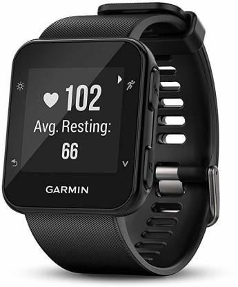 GARMIN Rubber 35 Watch (Black) Smartwatch