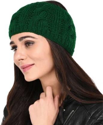 Woolen Earwarmer Earmuff Cap Cap