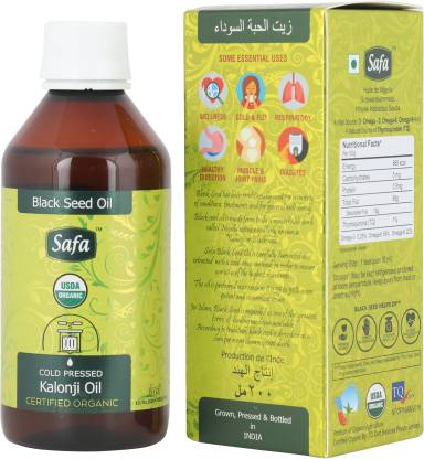 Safa Kalonji Oil (Blackseed Oil) 200ml