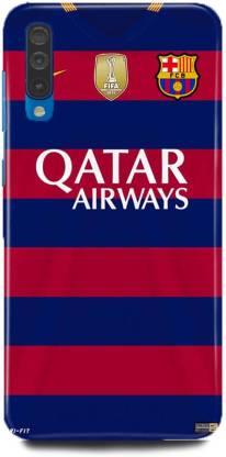 play fast Back Cover for Samsung Galaxy A50/SM-A505FZKDINS QATAR AIRWAYS PRINTED