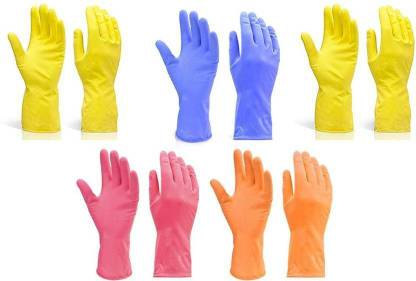 SKY VOGUE Garden Gloves Wet and Dry Disposable Glove Set