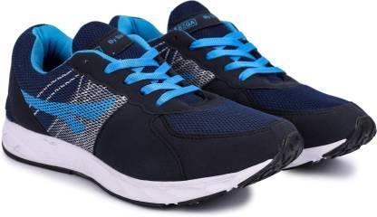 SEGA NavyBlue Marathon Running Shoes For Men