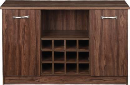 WOODNESS Engineered Wood Bar Cabinet