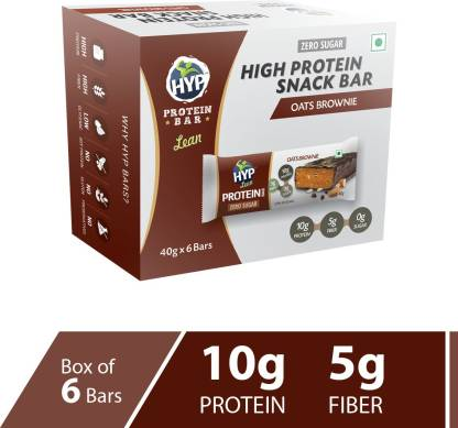 HYP Oats Brownie (Box of 6) Protein Bars
