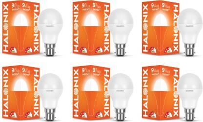 HALONIX 9 W Round B22 LED Bulb