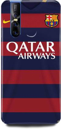 play fast Back Cover for Vivo V15 Pro/1818 QATAR AIRWAYS PRINTED