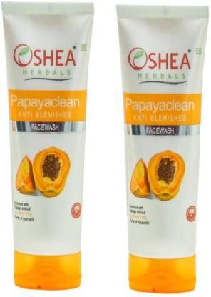 Oshea Herbals PapayaClean  (120 g) pack of 2 Face Wash