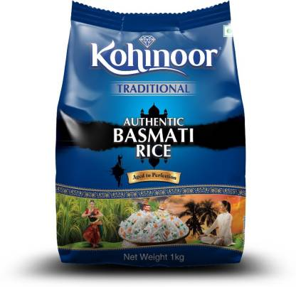 KOHINOOR Authentic Platinum Basmati Rice (Long Grain)