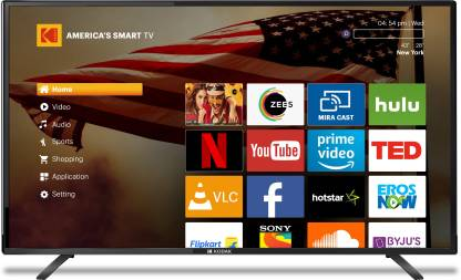 Kodak XPRO 108cm (43 inch) Full HD LED Smart TV