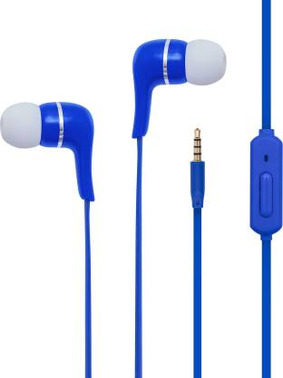 TOSHIBA Wired Earphone RZE-D32E Blue Wired Headset