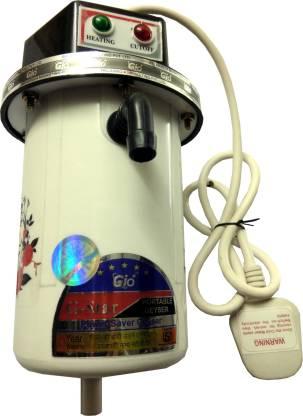 RIM 1 L Instant Water Geyser (Gioplus instant Geyser 02, White, Black, Red)