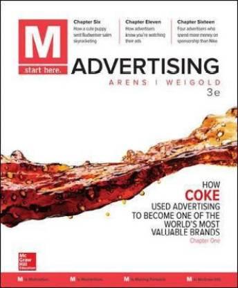 M: Advertising: Buy M: Advertising by Arens William at Low Price in India |  Flipkart.com