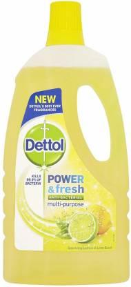Dettol Poer and Fsh Multipurpose Cleaner (1 L, Lemon) Lemon