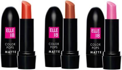 ELLE 18 Color Pops Matte Lets Tango, Choco Bite & First Love