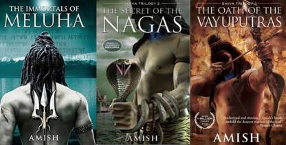 COMBOS OF 3 BOOKS (The Oath Of The Vayuputras,The Secret Of The Nagas,The Immortals Of Meluha (Shiva Trilogy)