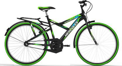 HERCULES KOMBAT26BLACK/GREEN 26 T Road Cycle