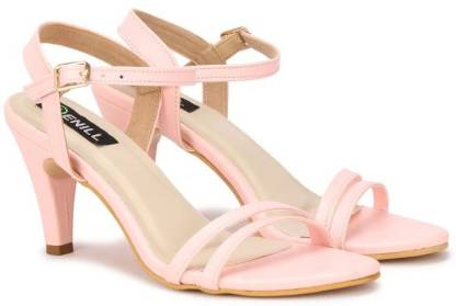 Sir Denill Women Pink Heels