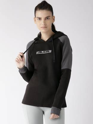 Alcis Full Sleeve Printed Women Sweatshirt