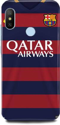 play fast Back Cover for Redmi Note 6 Pro/MZB6878IN QATAR AIRWAYS PRINTED