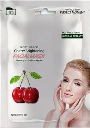 MOND'SUB CHERRY BRIGHTENING & WHITENEING FRUIT FACIAL MASK (25G, PACK OF 1)