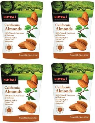 Nutraj California Almonds 800gm (200g X 4) Almonds