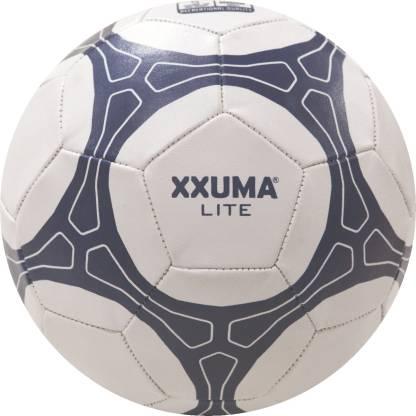 XXUMA LITE Football   Size: 5 Pack of 1, White, Blue  XXUMA Footballs