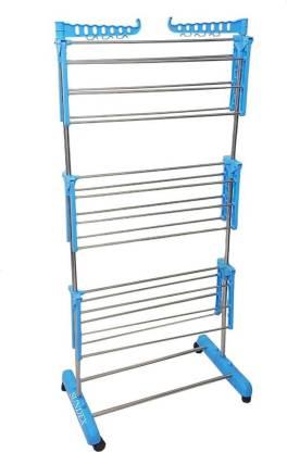 lakshay Steel Floor Cloth Dryer Stand STAINLESS STEEL PIPE - 877