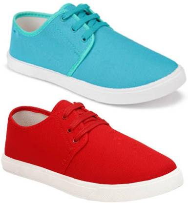 Axter Combo Pack of 2 Casual Loafer Sneakers Shoes Casuals For Men