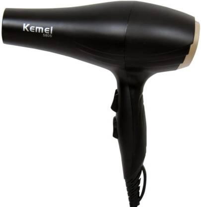 Kemei 3000W Powerful Professional Heavy Duty Hair Dryer for Unisex (Black) Km-5805 Hair Dryer
