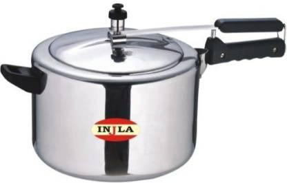 INJLA FINE QUALITY STAINLESS STEEL INNER LID 5 LTR PRESSURE COOKER 5 L Induction Bottom Pressure Cooker