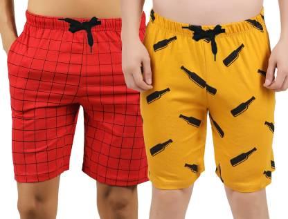 Hotfits Graphic Print Men Multicolor Boxer Shorts