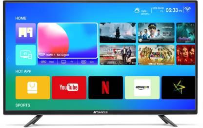 Sansui Pro View 102cm (40 inch) Full HD LED Smart TV 2019 Edition(40VAOFHDS)