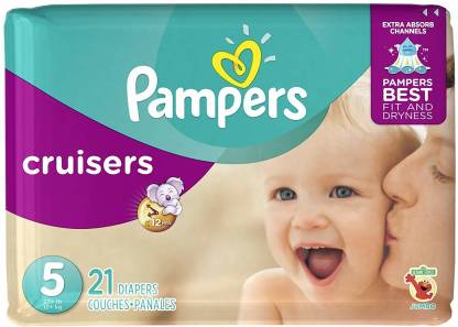 Best Baby Diapers pack of 3 Pampers Baby-Dry Pants Diaper - Free Size Fit to All Baby