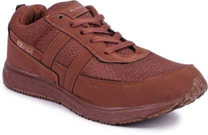 SEGA Sega 10 Brown Marathon Shoes Walking Shoes For Men