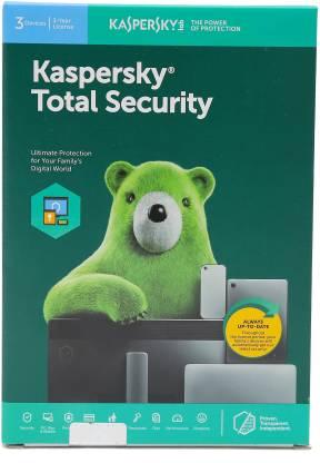 Kaspersky Total Security 3.0 User 3 Years