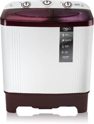 MarQ 6.2 kg Semi Automatic Washing Machine