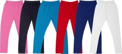 Fasha Legging For Girls(Multicolor Pack of 6)