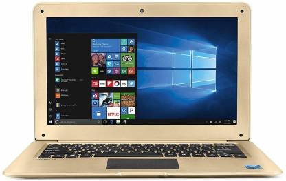 Lava Helium 12 Atom 7th Gen - (2 GB/32 GB HDD/32 GB EMMC Storage/Windows 10 Home) Helium 12 Laptop (12.5 inch, Gold)