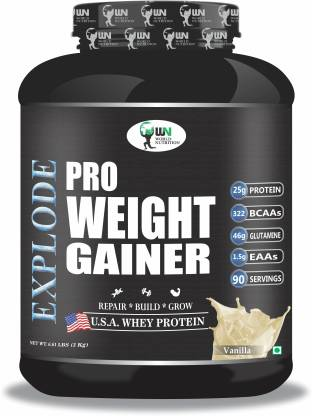 WORLD NUTRITION Muscle Weight Gainers/Mass Gainers