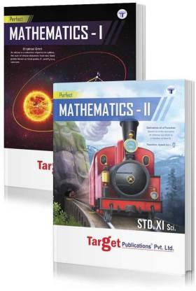 Std 11th Perfect Maths 1 & 2 Combo Notes Book, Science And Arts (Maharashtra Board)