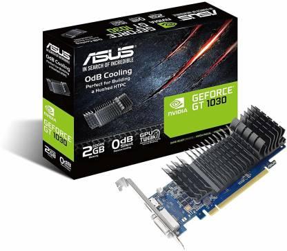 ASUS NVIDIA GeForce Pascal GT 1030 2GB GDDR5 64bit 2 GB GDDR5 Graphics Card