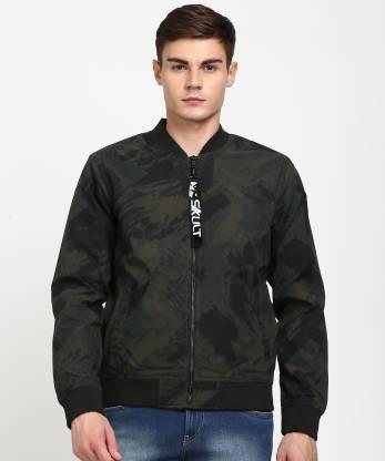 SKULT by Shahid Kapoor Full Sleeve Printed Men Jacket