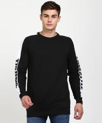 SKULT by Shahid Kapoor Full Sleeve Solid Men Sweatshirt