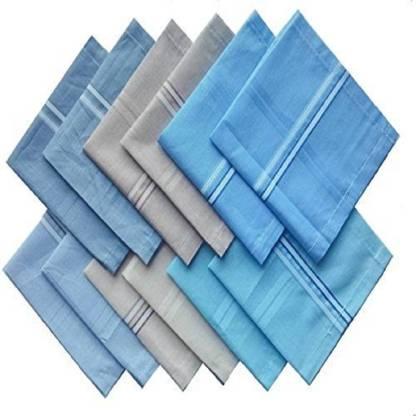 """Enchanted Drapes Men Cotton Rumal [""""Multicolor""""] Handkerchief"""
