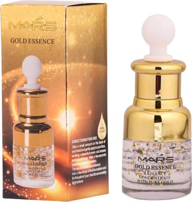 M.A.R.S Long Lasting Makeup Base 24 K Gold Primer with Under eye cream Primer  - 30 ml