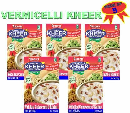 SOOPER VERMICELLI KHEER COMBO PACK OF 5 1 kg