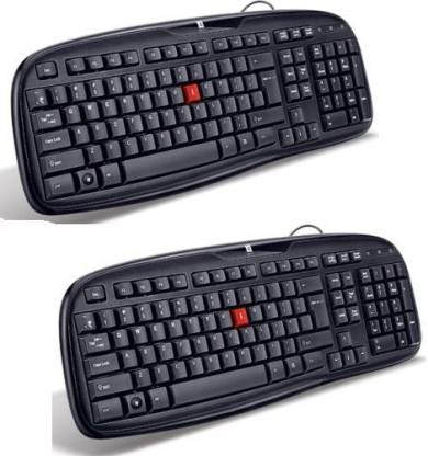 iBall Winner Wired USB Laptop Keyboard Wired USB Laptop Keyboard