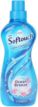 Softouch Ocean Breeze Fabric Conditioner  (7% Extra In Pack)  (800 Ml)