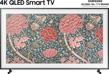 Flipkart - Flipkart: Samsung The Frame 138cm (55 inch) Ultra HD (4K) QLED Smart TV  (QA55LS03RAKXXL)