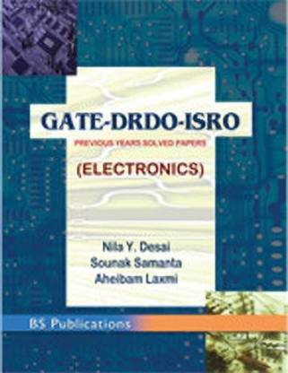 Gate-Drdo-Isro, Prvious Years Solved Papers (Electronics), Desai Y.
